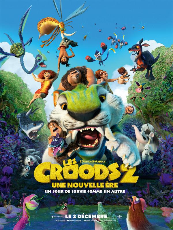 Affiche du film : Les Croods 2 : une nouvelle ère