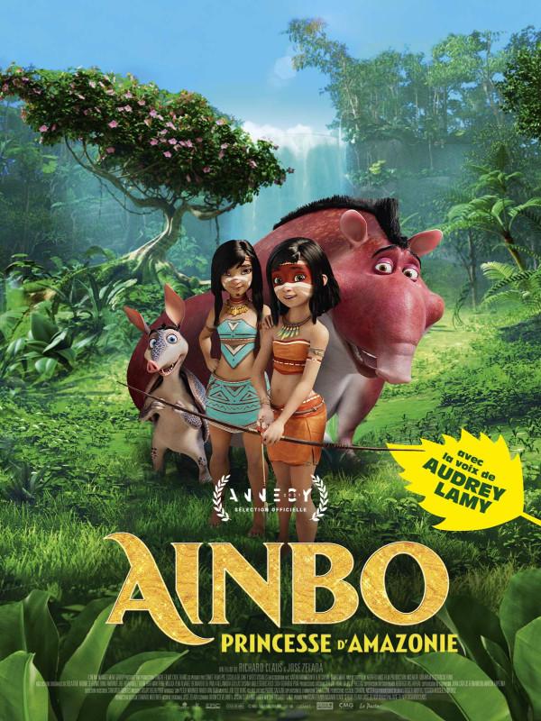 Affiche du film : Ainbo, princesse d'Amazonie