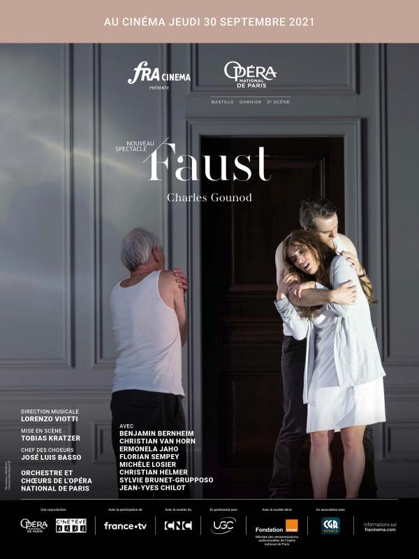 Affiche du film : Faust (Opéra de Paris-FRA Cinéma)