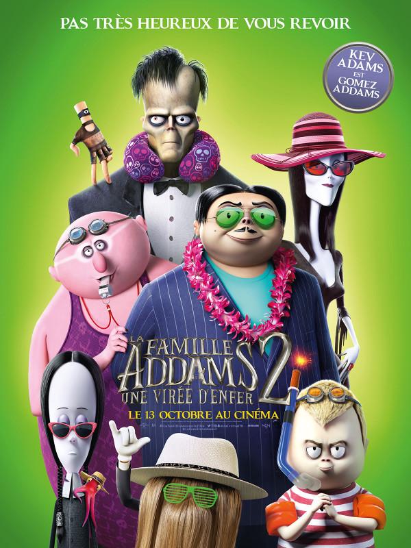 Affiche du film : La Famille Addams 2 : une virée d'enfer