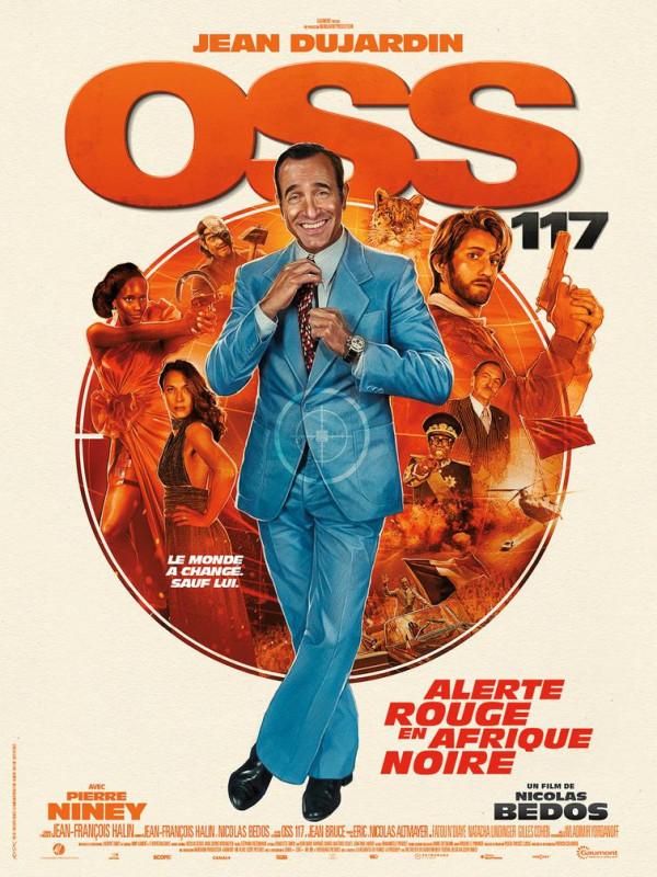 Affiche du film : OSS 117 : Alerte rouge en Afrique noire
