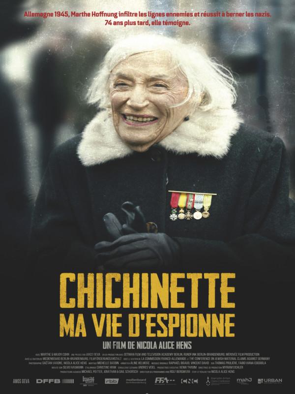 CHICHINETTE, MA VIE D'ESPIONNE