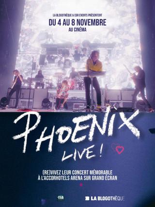 PHOENIX, LE CONCERT SUR GRAND ECRAN
