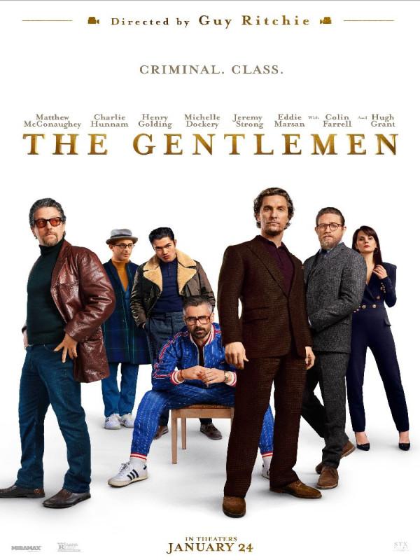 """Résultat de recherche d'images pour """"affiche The Gentlemen"""""""